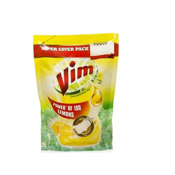 Vim Dishwashing Liquid refill pack