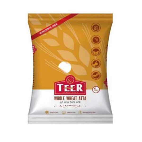 Teer Whole Wheat Atta 1kg | teer atta price in Bangladesh