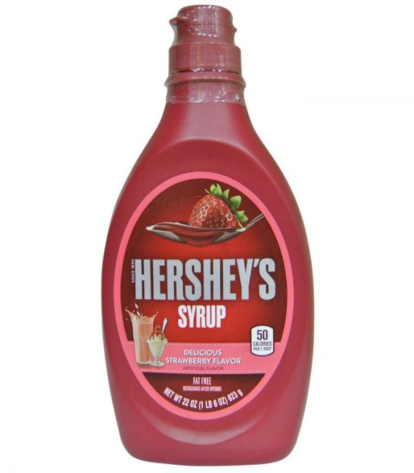 Hersey's Strawberry Syrup