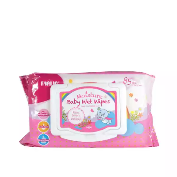 Farlin Baby Moisture Anti Rash Wet Wipes Pink price in bangladesh
