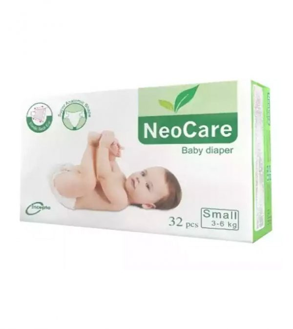 NeoCare Diapers Small Size 32 pcs | Diapers price in bd