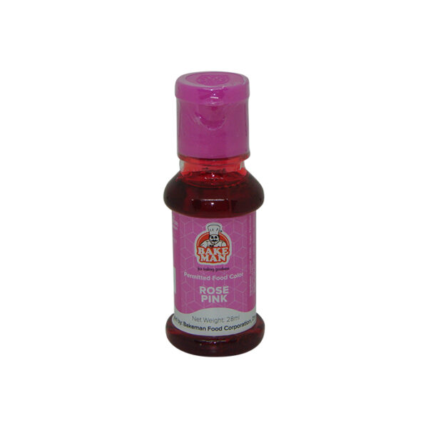 Bakeman Rose Pink Food Coloring 28ml | food color price bd