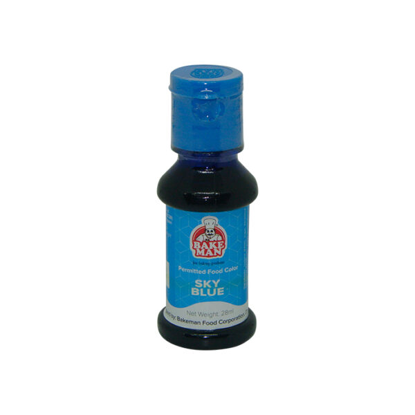Bakeman Sky Blue Food Coloring 28ml | food color price bd