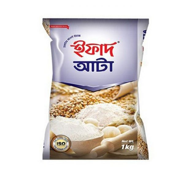 Ifad Atta (ইফাদ আটা) 1kg | All Purpose flour price in bd