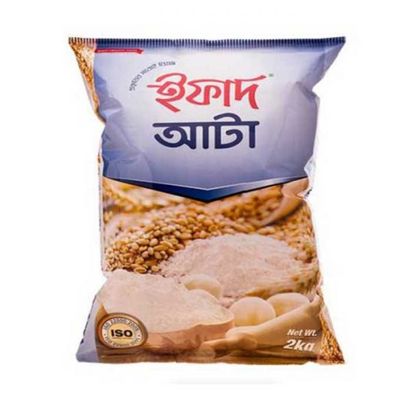 Ifad Atta (ইফাদ আটা) 2kg| 2kg All Purpose flour price in bd