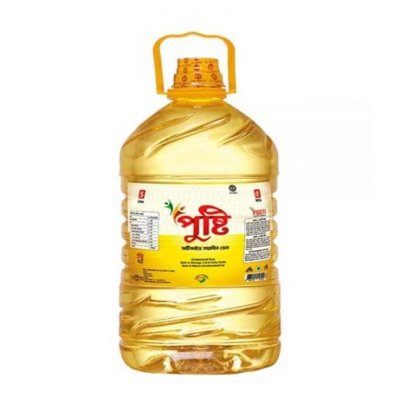 PUSTI Soyabean Oil | soyabean oil price in Bangladesh