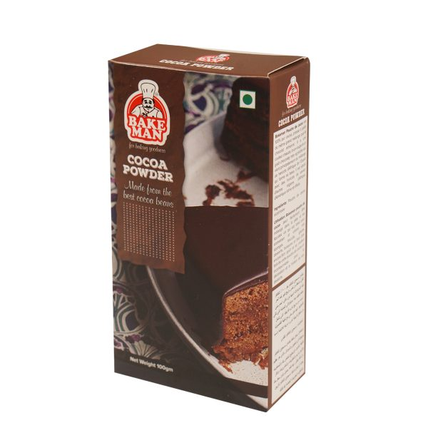 Bakeman Cocoa Powder 100gm