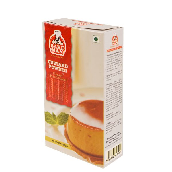Bakeman Custard Powder 200gm | custard powder price bd