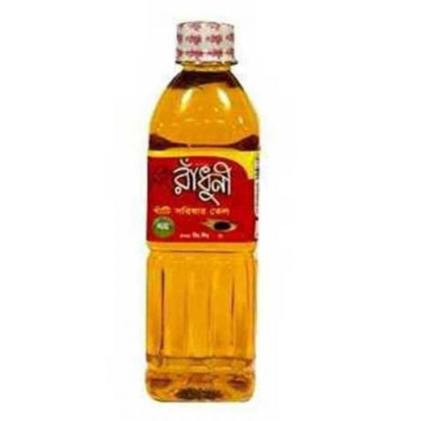 Radhuni-Pure-Mustard-Oil-500ml