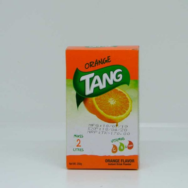 Tang Instant Drinking Powder Orange 250gm | tang price bd