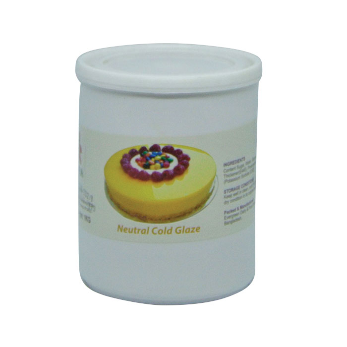 Neutral Cold Glaze Flora 1kg | Cake frosting price in BD
