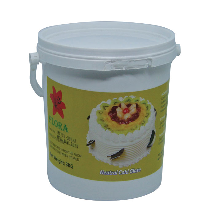 Flora Neutral Cold Glaze 3kg | Cake frosting price in BD