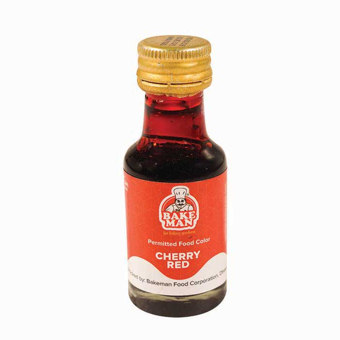 Bakeman Food Coloring Cherry Red 28ml | food color price