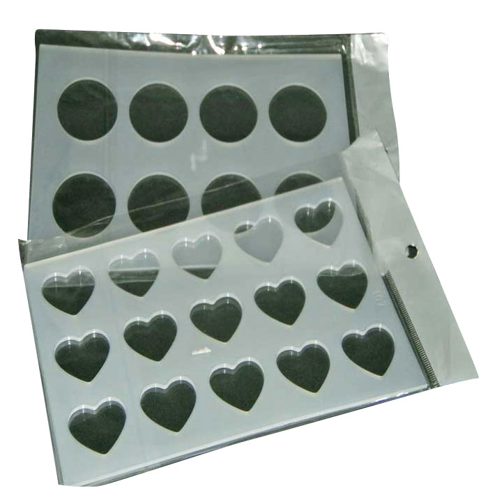 Silicone-Chocolate-Molds-Heart-&-Circle-shape