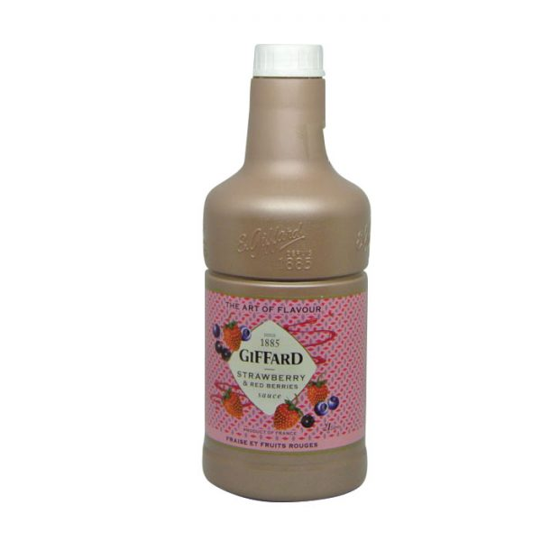 Giffard-Strawberry-red-berryies-sauce