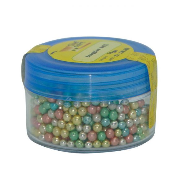 Rainbow Pearl Sprinkles Dragee Ball 30gm price in BD