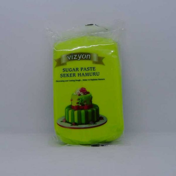 Vizyon Sugar Fondant Green 500gm | fondant price in BD
