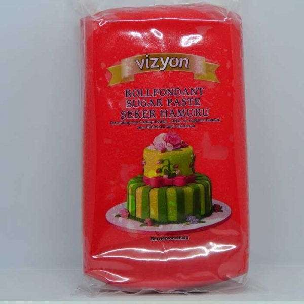 Vizyon Red Fondant 1kg | buy Red Fondant online BD