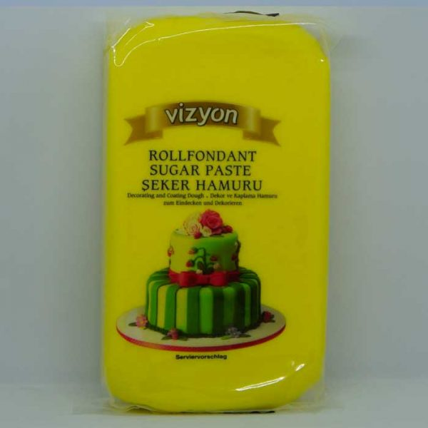 Vizyon Yellow Fondant | Fondant price BD | sugar paste