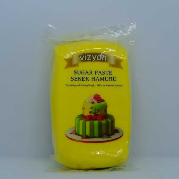 vizyon-cake-fondant-yellow-500gm