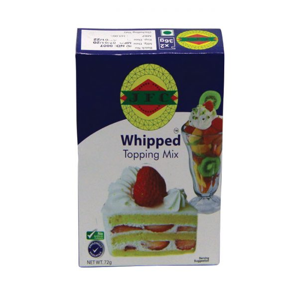 JFC Whipped Topping Mix 72gm | Whip Topping Mix price in bd
