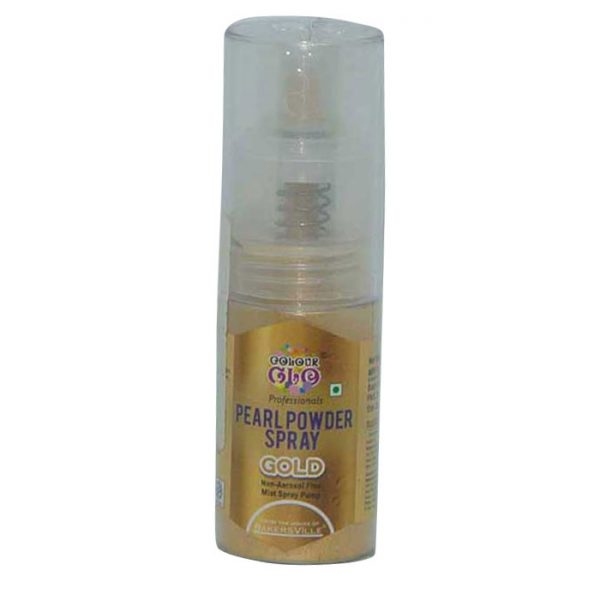 Colour Glo Pearl Powder Spray Gold | Cake Spray price
