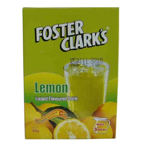 Foster Clark's Drink Lemon 225g | lemon drink price bd
