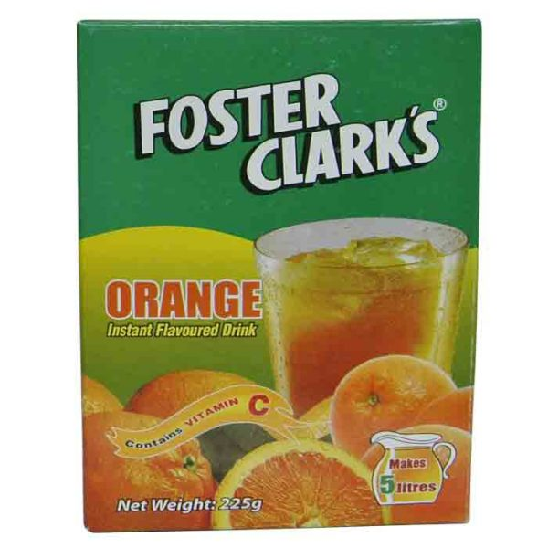 Foster Clark's Drink Orange Flavor 225g | orange drink price bd