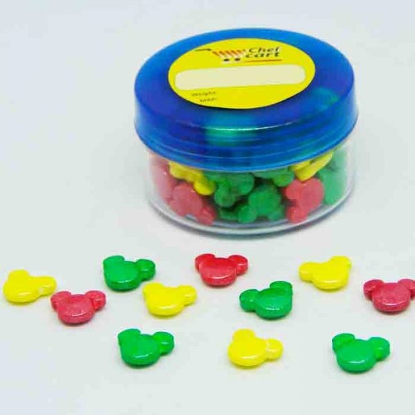Multi Color Mickey Sprinkles 40gm | sprinkles price bd