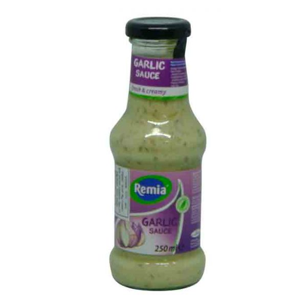 Remia Garlic Sauce 250gm | garlic sauce price in bd