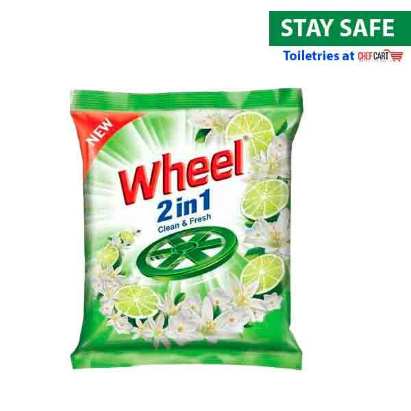 Wheel detergent powder 2 in 1 clean & fresh