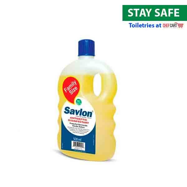 Savlon Anticeptic Disinfectant 500ml Family Size