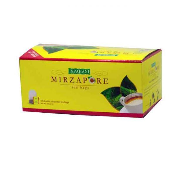 Ispahani Mirzapore Tea Bags 50pcs | ispahani tea price in bd
