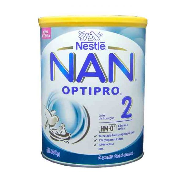 Nestlé NAN 2 Follow Up Formula With Optipro TIN -800gm