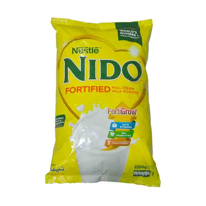 Nido Fortified Milk Powder Full Cream 225gm