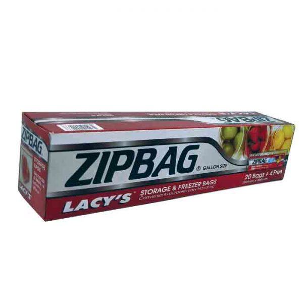 Lacy's Zipbag gallon size 260×280 | zipbag price in bd