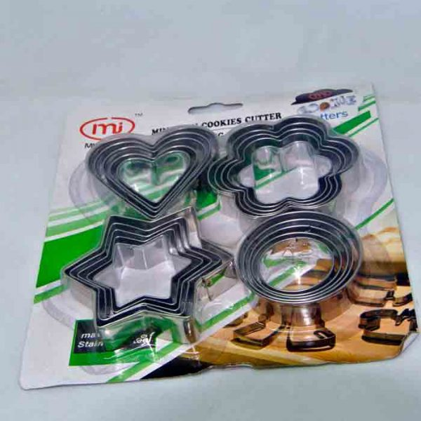 Cookie Cutter 20pcs set Heavy duty | Buy Cookie cutter online in BD