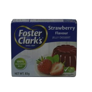 Foster Clark's Strawberry Jelly Dessert 85g | jelly powder price