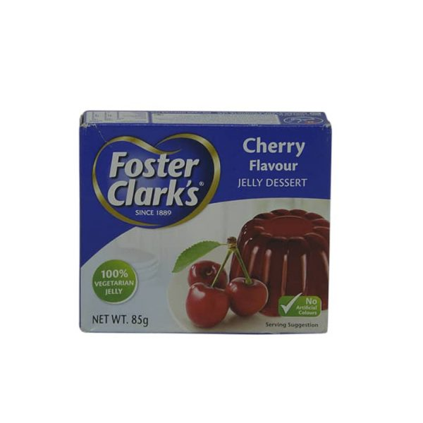 Foster Clark's Cherry Jelly 85g | jelly powder price