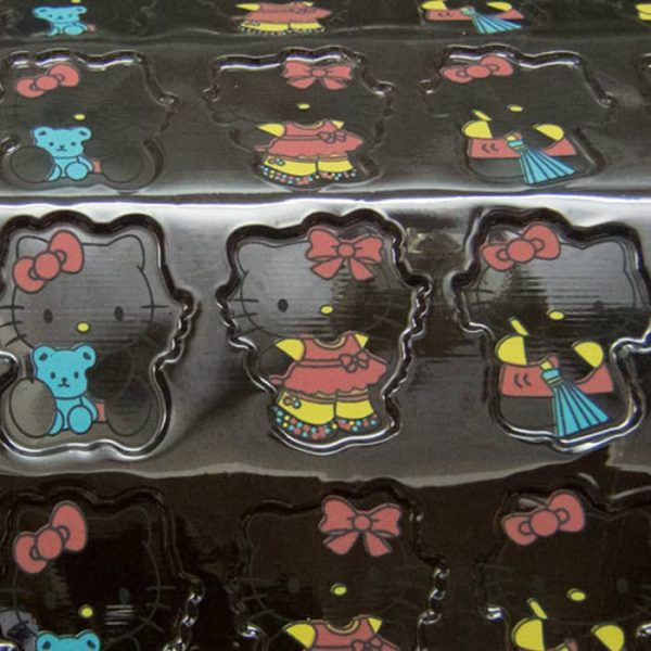 Hello Kitty 3D Chocolate Transfer Sheet