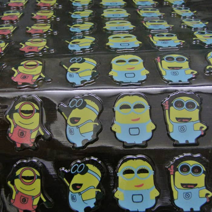 Minion 3D Chocolate Transfer Sheet