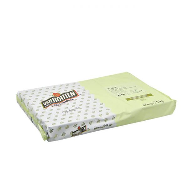Vanhouten White Compound Milk Chocolate bar 2.5kg price in bd