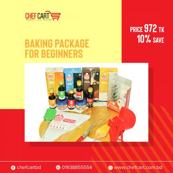 Chef Cart Baking Package for Beginner | Baking Product package