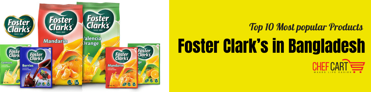 Best Foster Clark's products