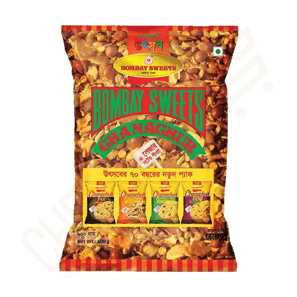 Bombay Sweets Chanachur 600 gm | Chanachur price in bd