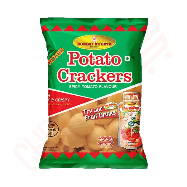 Bombay Sweets Potato Crackers 22 gm | Potato Crackers price