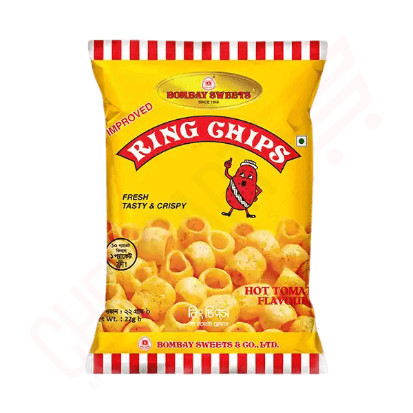 Bombay Sweets Ring Chips 22 gm | chips price in bd