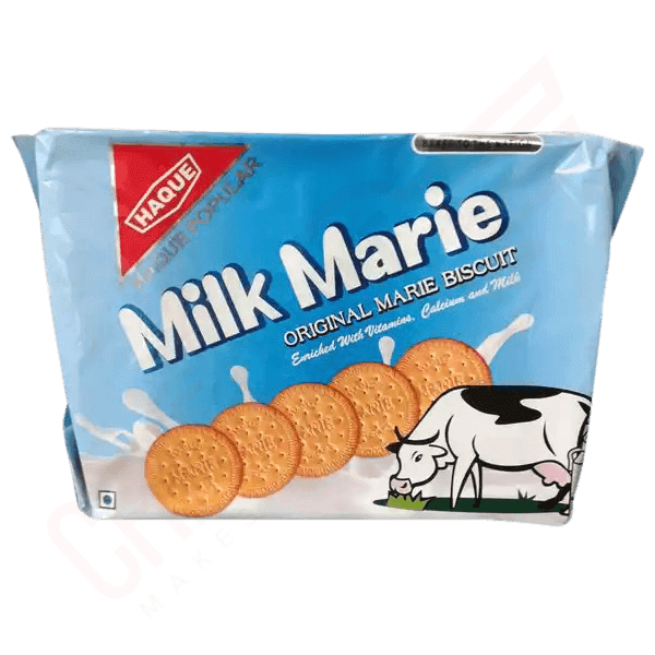 Haque Original Milk Marie Biscuits 285 gm | Milky biscuits