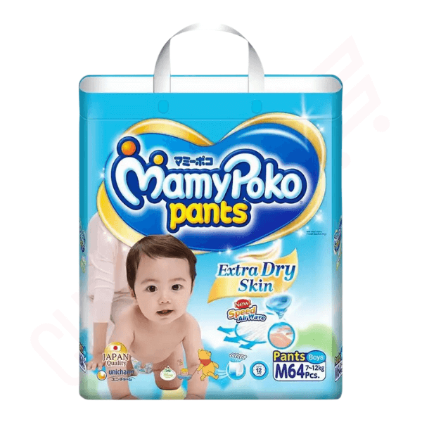 MamyPoko Pants Diaper Boys Pant M 64 pcs | diaper price