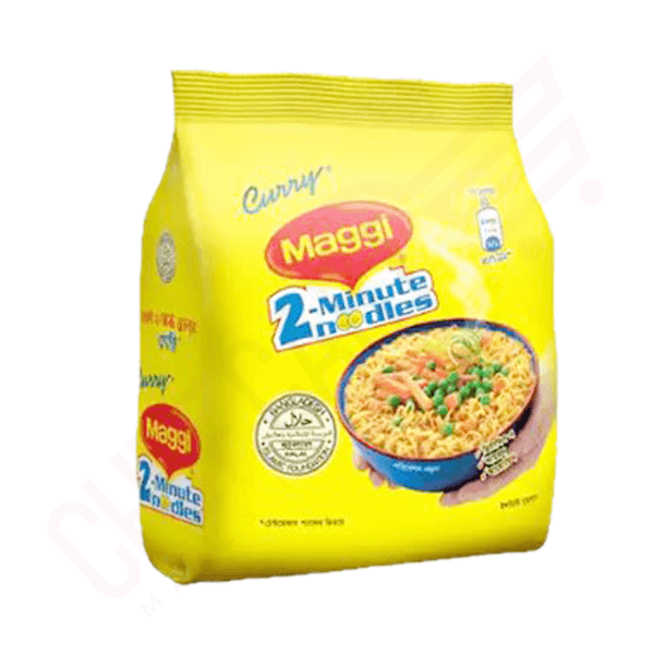 Nestle MAGGI 2-Minute Noodles Curry 4 Pack | curry noodles